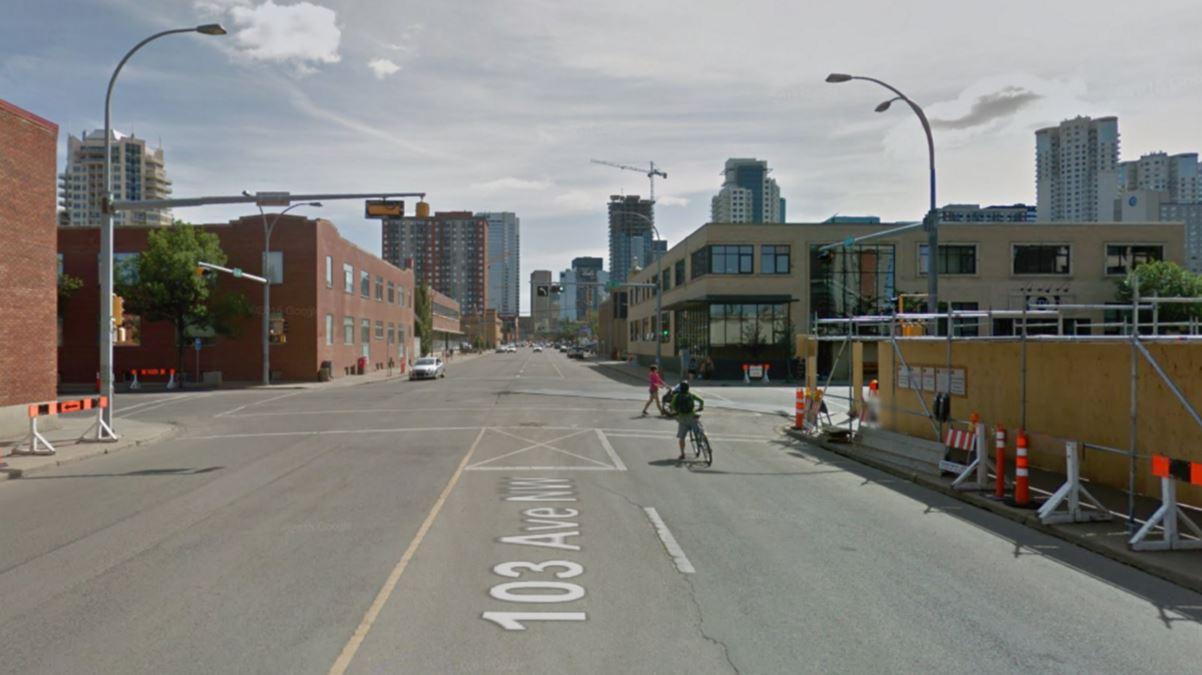 Downtown Edmonton Street